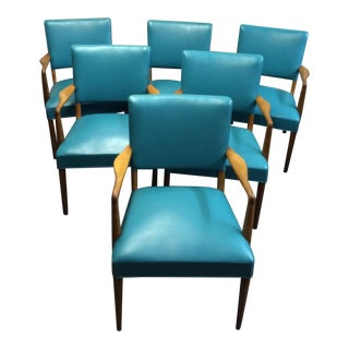 Mid-Century Stow Davis Arm Chair - set of 6