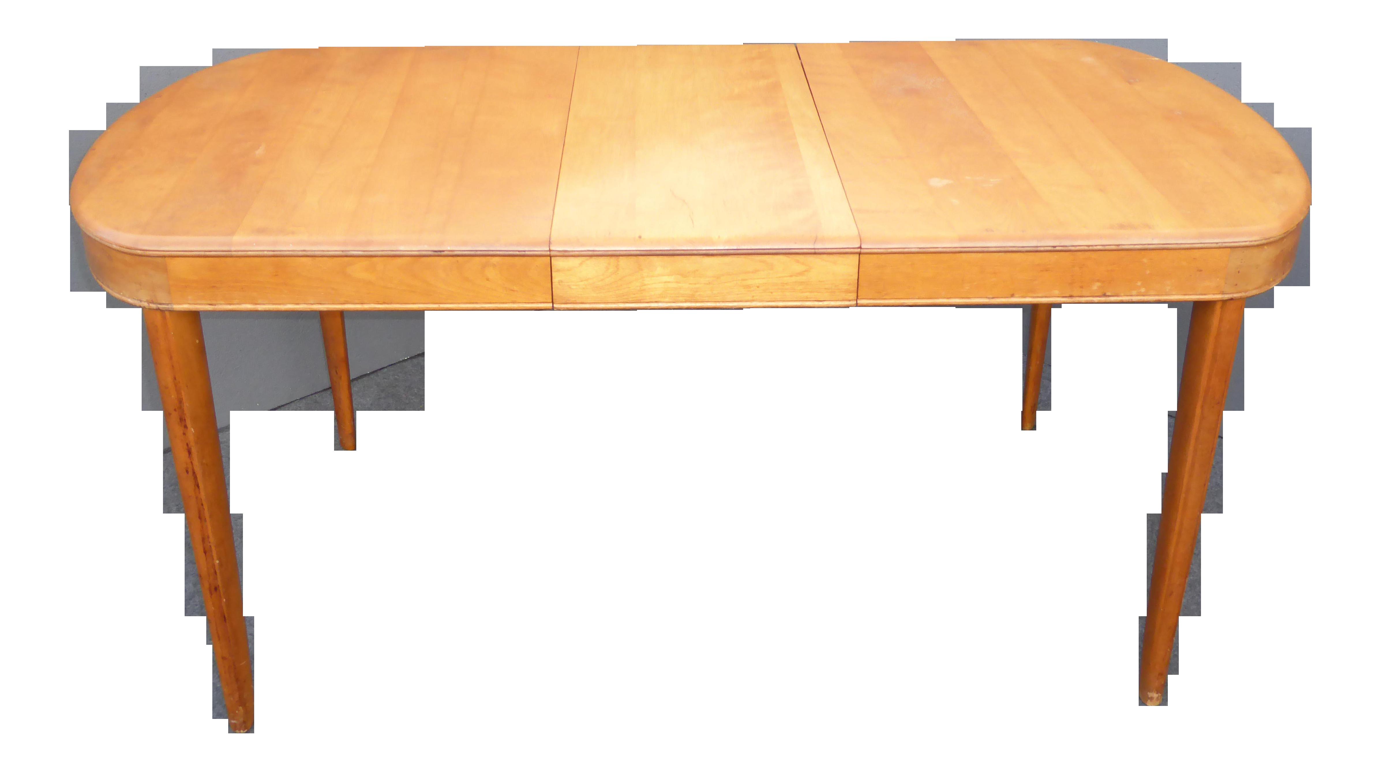 Vintage Heywood Wakefield Danish Modern Dining Table  : vintage heywood wakefield danish modern dining table 7718aspectfitampwidth640ampheight640 from www.chairish.com size 640 x 640 jpeg 21kB