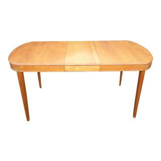 Vintage Heywood Wakefield Danish Modern Dining Table