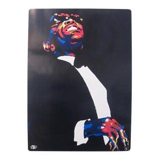 """1990 Polish """"Jazz Greats"""" Poster, Ray Charles"""
