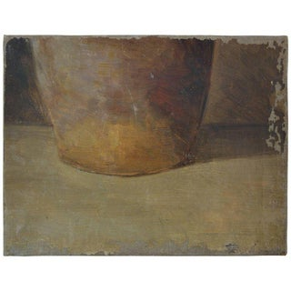 French Jug Still Life Oil on Canvas, Circa 1920