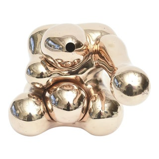Fantastic Polished Bronze Abstract Sculpture