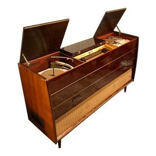 Mid Century Modern Grundig Majestic Stereo Console