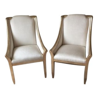 """Caracole Furniture Dining Chairs """"Sterling Reputation"""" - Set of 4"""