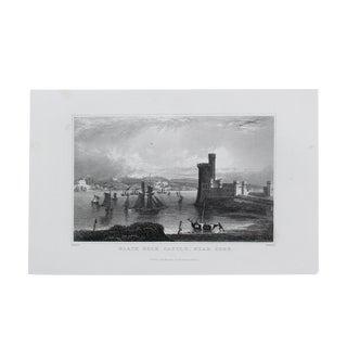 1845 Antique Cork Ireland Engraving