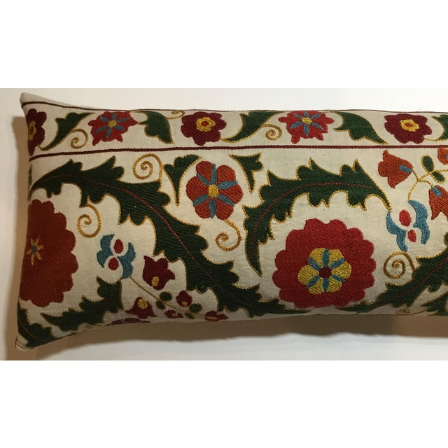 Hand Embroidery Vintage Suzani Pillow - Image 6 of 9