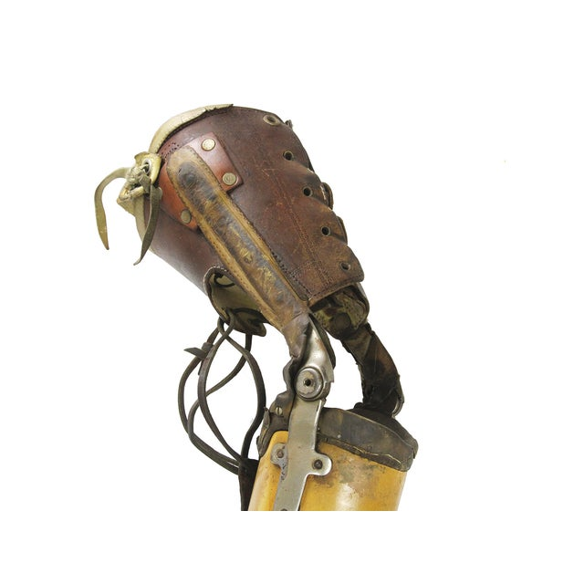 Vintage Medical Prosthetic Right Leg - Image 3 of 5