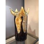 Image of Golden Art Glass Vase