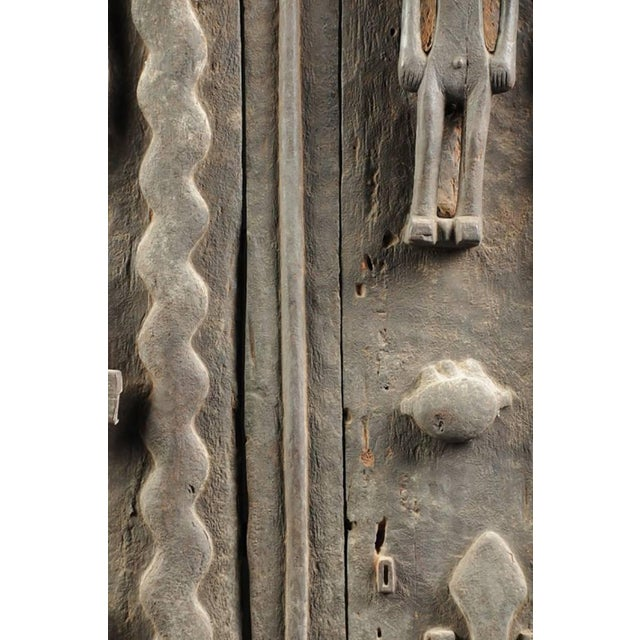 Monumental Hardwood African Granary Door - Image 8 of 9