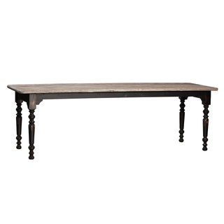 Elm Top Dining Table