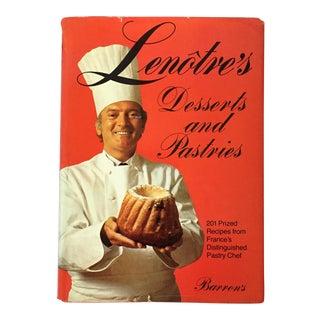 'Lenotre's Desserts & Pastries' Book