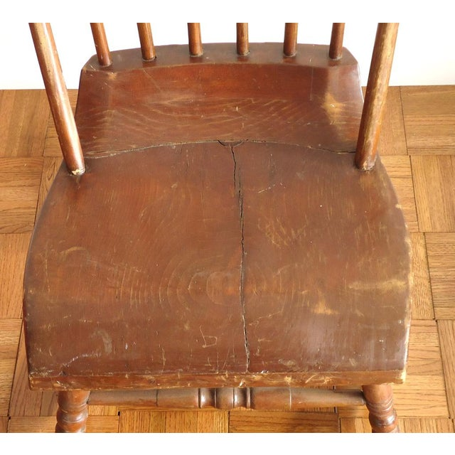 Antique Primitive Rocking Chair - Image 3 of 8