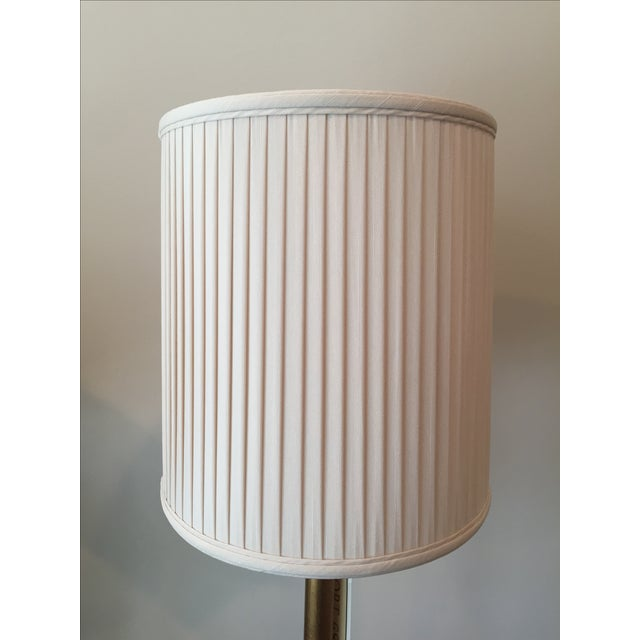 Port 68 Gold Faux Bamboo Table Lamps - A Pair - Image 3 of 6
