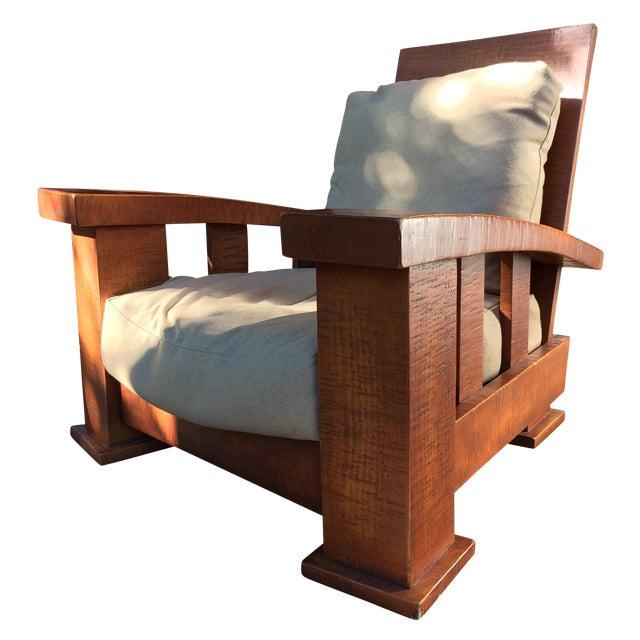 Mimi London Favorite Lounge Chair Japanese Style   Chairish