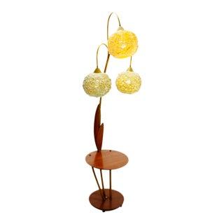 Vintage Mid-Century Modern Spaghetti Spun Floor Lamp
