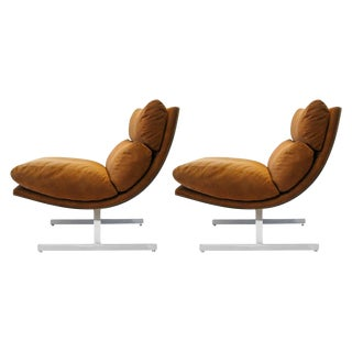 Kipp Stewart for Directional Lounge Chairs - Pair