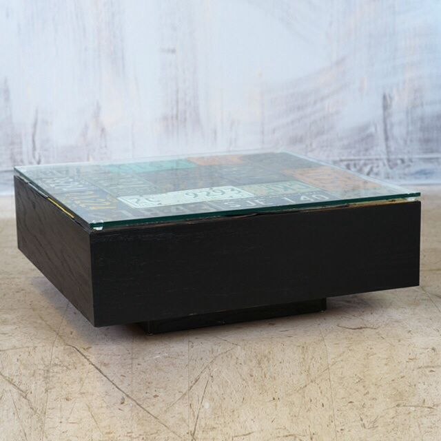 Americana License Plate Coffee Table - Image 2 of 3