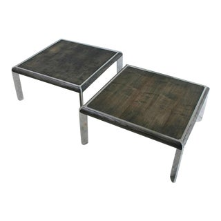 Pair Italian Coffee Tables