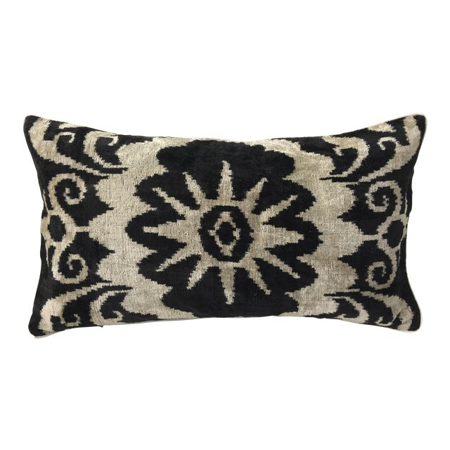 Silk Velvet Accent Pillow - Image 1 of 3
