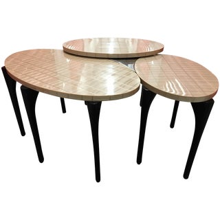Mark David 3-Section Side Table