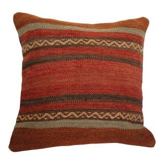 Vintage Boho Chic Handmade Kilim Pillow Cover