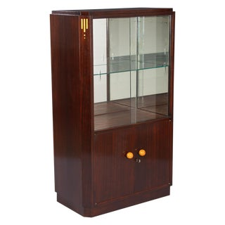 1930s French Art Deco Rosewood Cabinet