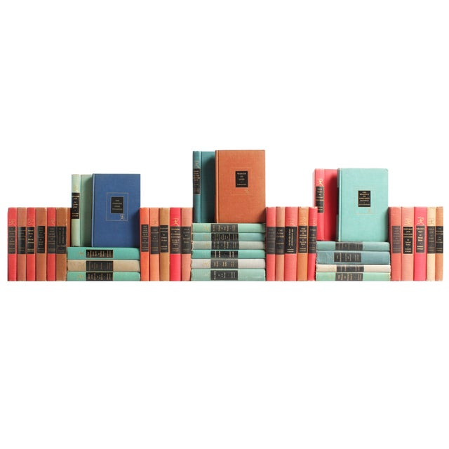 Image of Green, Rust & Red Classic Books - S/40