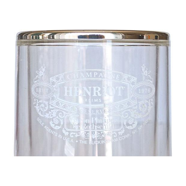Image of Lucite French Henriot Champagne Chiller