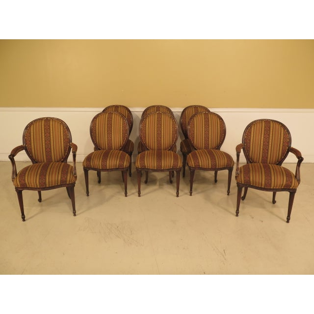 EJ Victor Regency Dining Room Chairs Set Of 8 Chairish