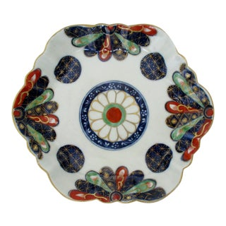 Chinoiserie Ceramic Trinket Dish
