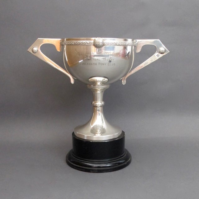 Silverplate Pony Club Trophy - Image 2 of 10