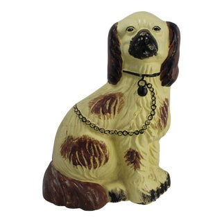 Cast Iron Spaniel Door Stop