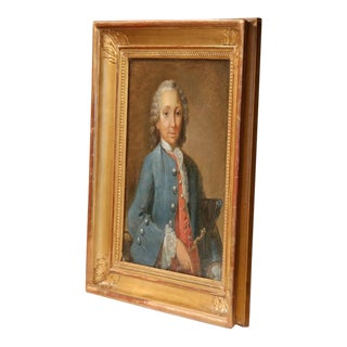 Framed Painting of the Marquis De Rochambeau