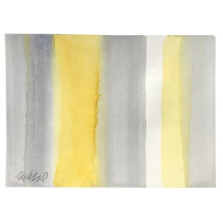 """Beach Towel"" Original Watercolor Painting"