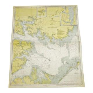1951 United States East Coast Chart