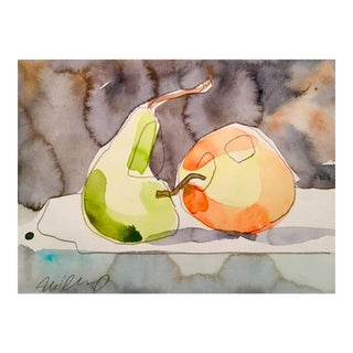 Apple and Pear Still Life Painting