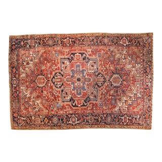 """Vintage Heriz Carpet - 7'7"""" x 11'5"""""""