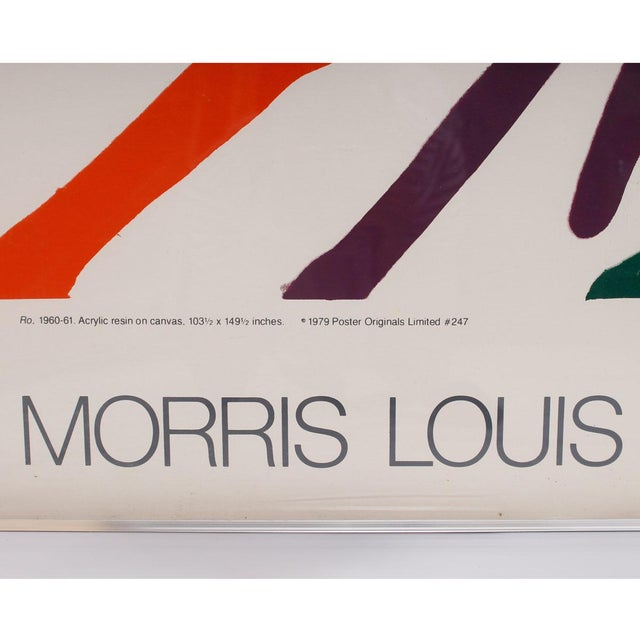 1979 Morris Louis Major Works Exhibition Poster - Image 3 of 6