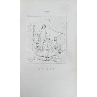 1840 Antique Print 7