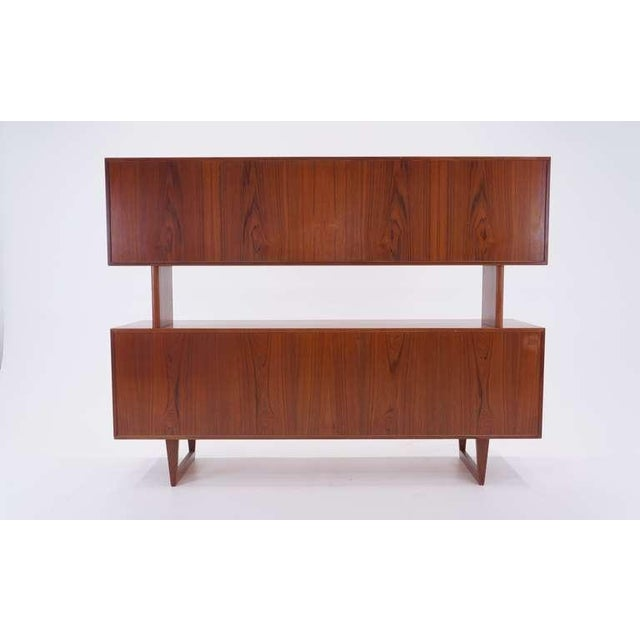 Kurt Ostervig Two Piece Storage Cabinet, Room Divider, or Credenza - Image 5 of 5