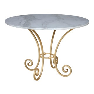 Hand Forged Metal Dining Table
