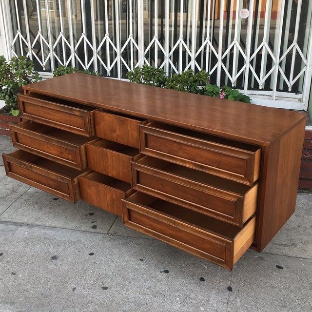 Vintage Walnut Dresser - Image 5 of 6