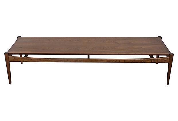 Bassett Mid Century Modern Coffee Table