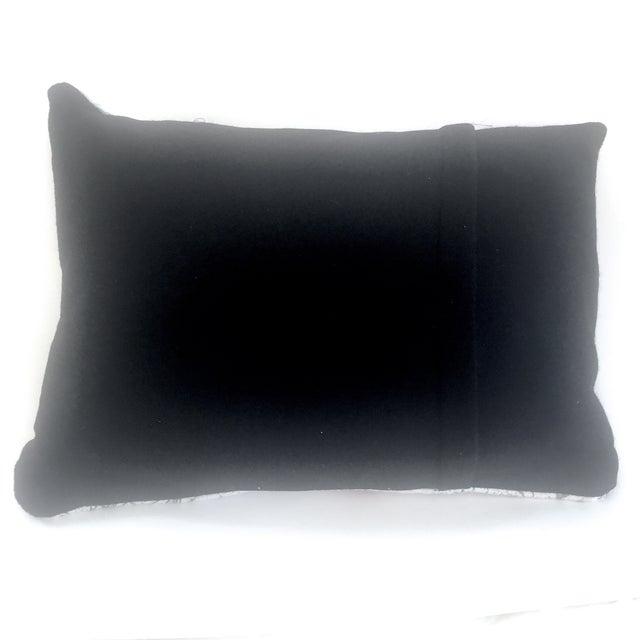 Image of Mid-Century Modern Barkcloth Throw Pillow