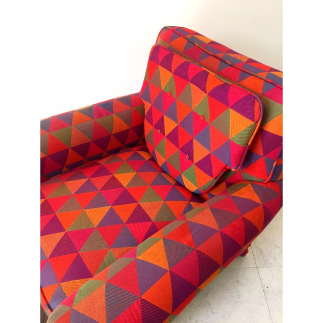 Jack Lenor Larsen Style Vintage Lounge Chair - Image 7 of 7