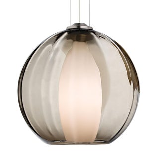 Tech Lighting Inner World Glass Smoke Pendant Chandelier