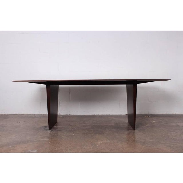 Large Walnut Dining Table by Edward Wormley for Dunbar - Image 5 of 10