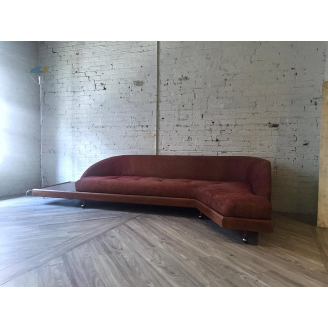 Mid-Century Modern Floating Platform Sofa - Image 3 of 4