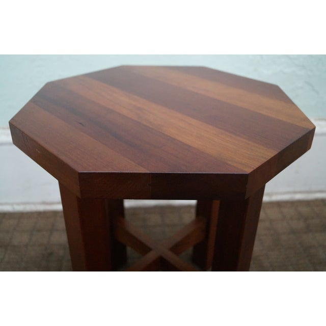 Stickley Mission Style Cherry Side Tables - B Pair - Image 6 of 10