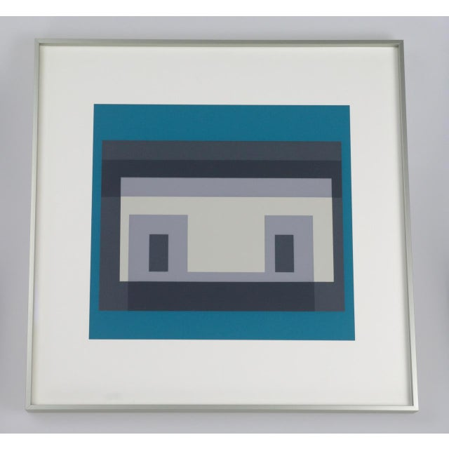 Josef Albers Variant III Screenprint - Image 2 of 4
